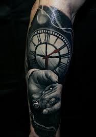 фото тату часы 20052019 088 Photo Tattoo Watch Tattoo Photo