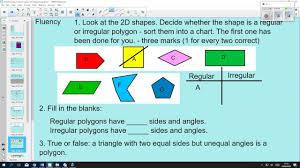 24 5 18 Reason About Regular And Irregular Polygons
