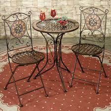 small metal bistro set pub style table armchair bistro set bistro table for 4 cafe style patio furniture