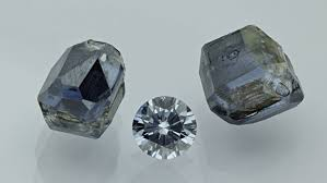 the pany grows raw diamonds out of carbon extracted from remains and cuts them down eterneva