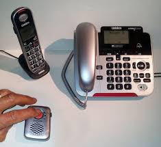 uniden corded cordless phone with sos pendant
