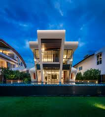 ... Mercurio Design Lab Create a Modern Villa in Singapore : Exterior  Singapore Modern Villa By Mercurio ...