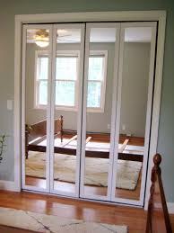 mirrored bifold closet doors ideas