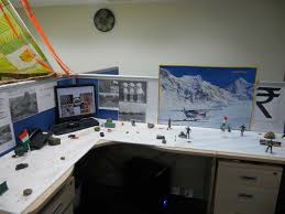 office decoration themes. Office Cubicle Decoration Ideas Themes E