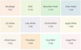 Upg Paint Color Chart Nippon Paint Color Chart Bedowntowndaytona Com