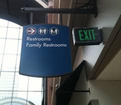 restroom directional sign. Restroom Signage Directional Sign L