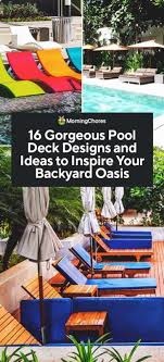 16 gorgeous pool deck designs and ideas