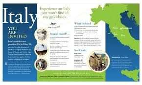 Examples Of Travel Brochures Italy Travel Brochure Example Of Nature