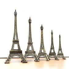 Eiffel Tower Home Decor Accessories Beauteous A32 Vintage Decor Metal Craft Retro Antique Bronze Eiffel Tower