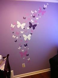 Small Picture Create A Mural Butterfly Wall Decals Lavender Lilac White