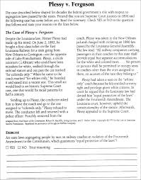essay vs paper essay vs paper plessy vs ferguson essay plessy v ferguson gcse law