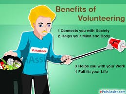 benefits of volunteering for your body mind career life