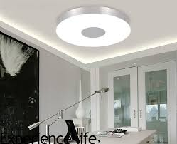 modern ceiling lighting ideas. Modern Ceiling Lamp Lighting Dia36cm Round Aluminum Tempered Glass Lamps Led Smd Bedroom Light Fixture-in Lights From \u0026 On Ideas E