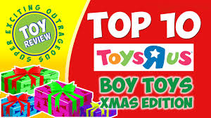 TOP 10 TOYS for Boys Christmas 2014 at Toys R Us - Toy Review ...