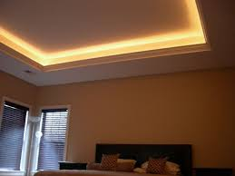 tray ceiling lighting. simple tray ceiling with crown molding and up lighting y