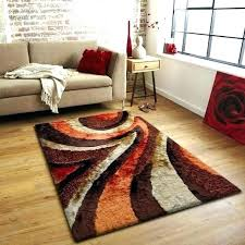 orange rugs for living room red orange rug orange brown area rug orange and brown area