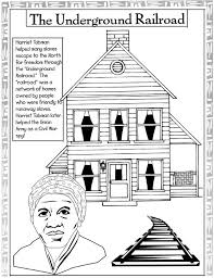Small Picture Harriet Tubman Coloring Page Syougitcom