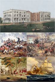 「1812  British troops arrive in Washington, D.C.」の画像検索結果