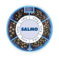<b>Грузила Salmo Дробинка PL</b> 6 секций стандартные 100г набор ...