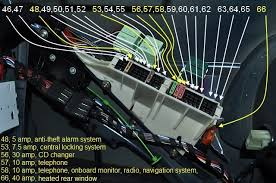 bmw 740i fuse box diagram need help location of the fuse boxs and overview of fuse note yellow lines are the