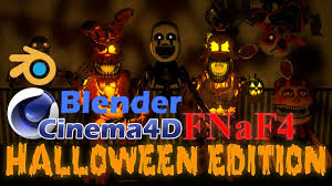 halloween pictures to download cinema4d blender fnaf4 halloween pack download youtube