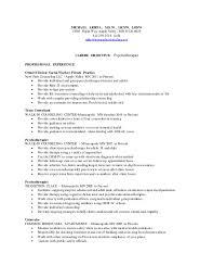 Resume For Counselor Washburn Center School Based Therapist Resume