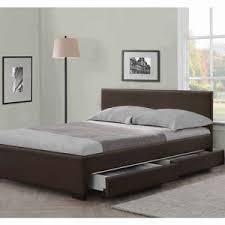 king size bed. Beautiful Size Image Is Loading 4DRAWERSLEATHERSTORAGEBEDDOUBLEORKING On King Size Bed E