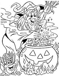 Small Picture Scary witchs head coloring pages Hellokidscom