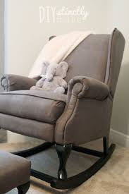 Diy Pottery Barn Rocking Chair Diystinctly Made Wingback Diystinctlymade  Iron Patio Chairs Argos Rattan Furniture Grey9