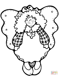 Small Picture Christmas Angel coloring page Free Printable Coloring Pages