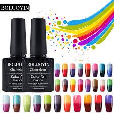 Temperature Change Uv Gel Polish Nails Art Manicure Soak Off ...