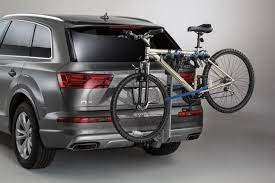 Audi Q5 2007 2017 Zaw071105b Thule Hitch Mounted Carrier Apex 4 Bike Thule Bike Bike Rack Hitch Bike Rack
