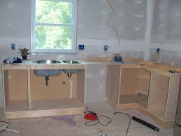 Home Built Kitchen Cabinets Build Kitchen Cabinets Free Plans Plans For Kitchen Cabinets