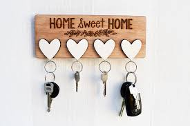 diy key holder ideas so you don t loose them ever again