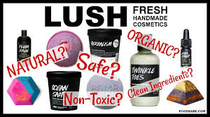 a member of my team was telling me how she s freaking out about the lush bath s her daughter s ing because she doesn t think they re safe