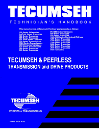 1-TESMM-Tecumseh Engine Service Maintenance Manual | Transmission ...
