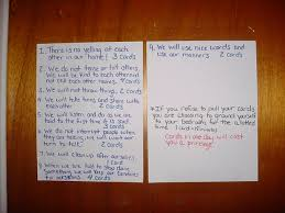 Household Rules And Good Behavior Deed Cards For Children