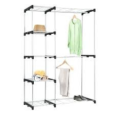 double closet rod standard height hanging dimensions distance