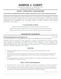 Resume For Retail Store Assistant Store Manager Resume Example ...