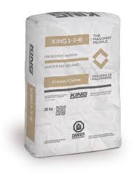 King 1 1 6 Cream King Masonry Products