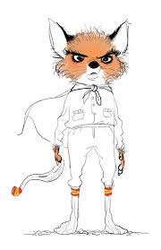 Ash from the fantastic mr fox by wes anderson