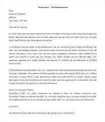 At Will Employee Termination Letter Employment Termination Letter ...