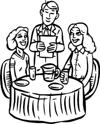 Restaurant Coloring Page Restaurant Coloring Pages Buildings And Structures Pizza