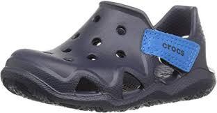 Crocs Kids' Swiftwater Wave Water Sandal   Clogs ... - Amazon.com
