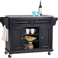 Kitchen Cart With Granite Top Wildon Home Ar Kitchen Island With Granite Top Reviews Wayfair