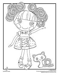 Small Picture Lalaloopsy Doll Coloring Pages Woo Jr Kids Activities