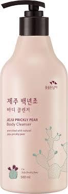 <b>Гель для душа</b> Flor de Man <b>Jeju</b> Prickly Pear Body Cleanser, 500 мл