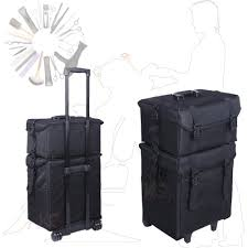 get ations to oceanian professional salon hairdressing makeup trolley case soft nylon artist makeup beauty case