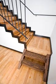 black iron furniture. How To Install Heart Pine Stair Treads : Enchanting Image Of Staircase Decoration Using Mount Wall Black Iron Furniture