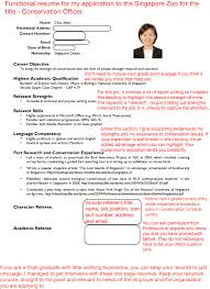 resume writing singapore
